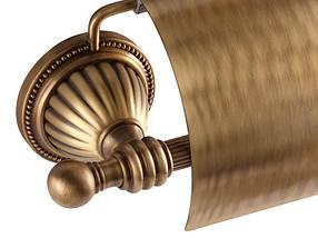 Держатель для туалетной бумаги KUGU Hestia antique 911A (латунь, бронза)(Бесплатная доставка  ), фото 2