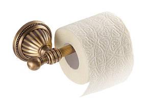 Держатель для туалетной бумаги KUGU Hestia antique 912A (латунь, бронза)(Бесплатная доставка  ), фото 3