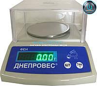Весы лабораторные на 300 г Днепровес ФЕН-Л2