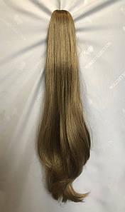 Ровный шиньон хвост на крабе искусственный Цвет пшеничный