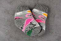 Детские шерстяные носки, носочки из натуральной шерсти, носки для самых маленьких, 11-14 см