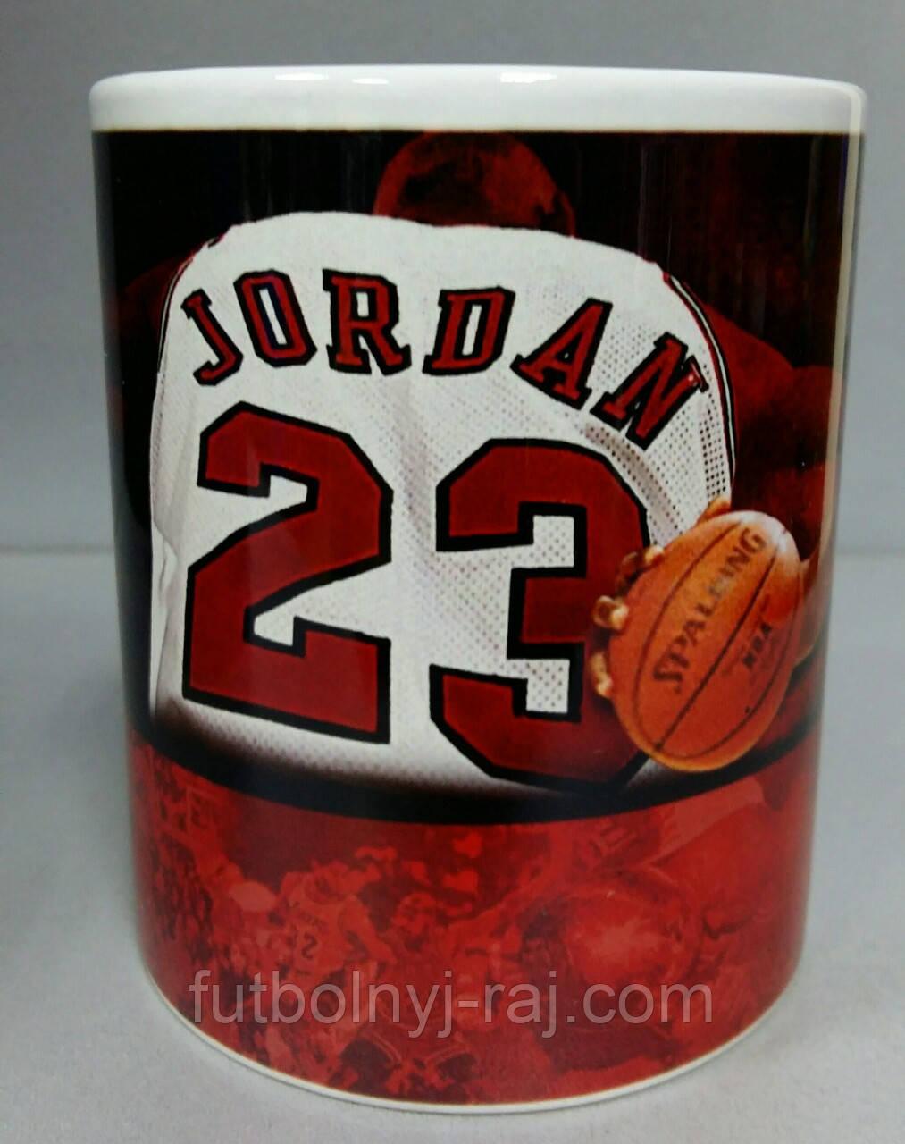 Чашка с изображением Джордан 23