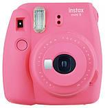 Набор: Камера моментальной печати Fujifilm Instax Mini 9, Чехол, Линзы, Рамки, Альбом, Стикеры + Пленка 20 сни, фото 2