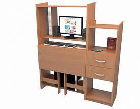 Компьютерный стол Ника Мини+ Флеш Ника, фото 3