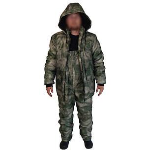 Зимний костюм SKYFISH для рыбалки и охоты ткань оксфорд, расцв. Атакс
