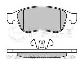 Комплект передних тормозных колодок на Рено Каптюр / MEYLE 025 249 1418
