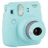 Набор Камера моментальной печати Fujifilm Instax Mini 9 Чехол, Линзы, Рамки, Альбом, Стикеры + Пленка 20 снимк, фото 2