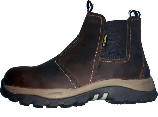 Защитные рабочие ботинки WorkWear PRO SAFETY DEALER BOOTS 7-11 р Brown(нат.кожа,металлический носок)