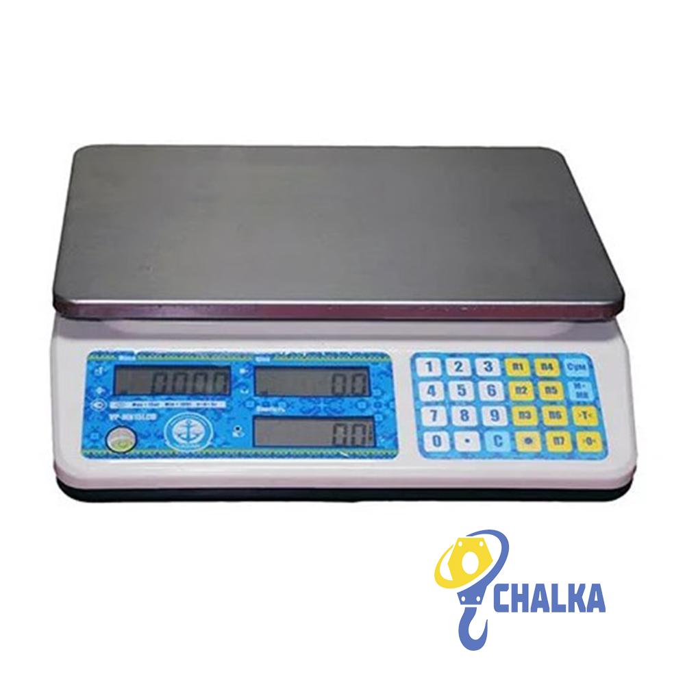 Торговые весы VP-LN LCD/LED (RS-232 ) ГОСТ