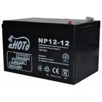 Акумуляторна батарея ENOT 12V 12AH (NP12-12) AGM