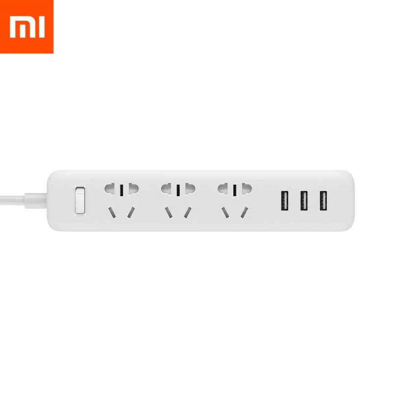 Сетевой фильтр Mi Power Strip (3 розетки CN + 3 USB-port) White