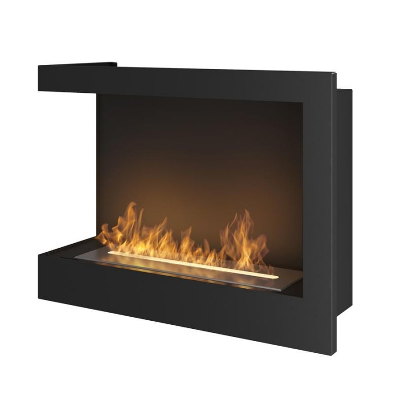 Биокамин Simple Fire Corner 900 L со стеклом