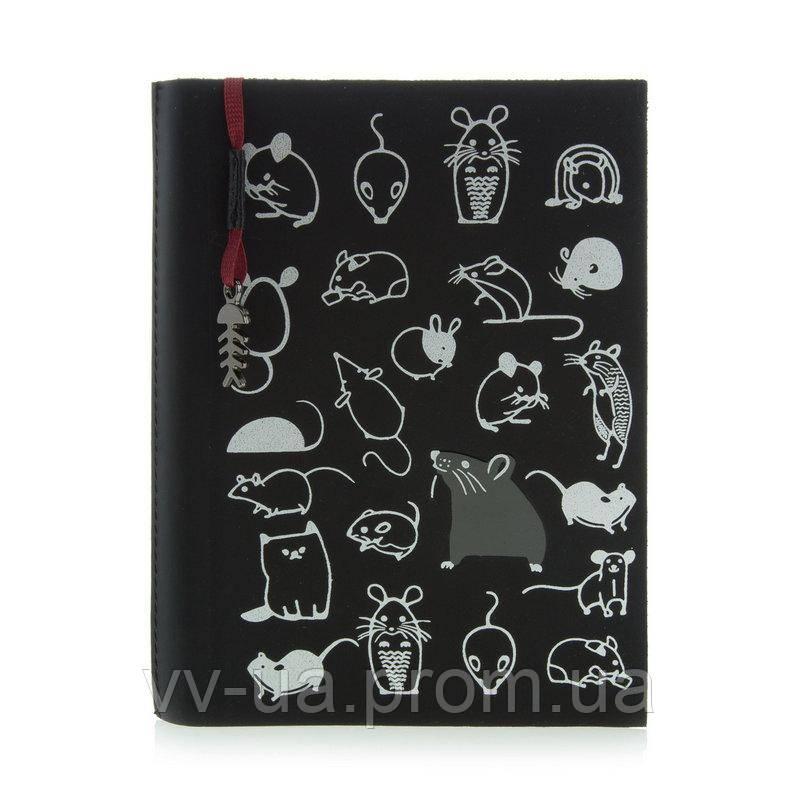 Ежедневник VIF 2020 Mouse celebration, A6, черный, 11114-06Е-10б