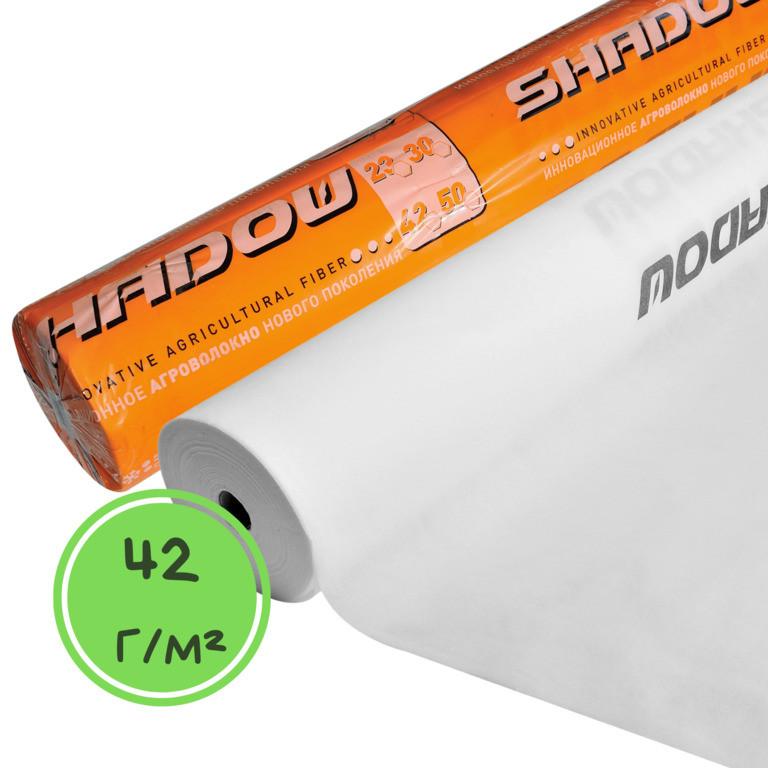 "Агроволокно белое Т.М. ""Shadow"" 42 г/м² 1,6 х 100м. 4%"