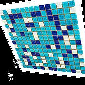 Мозаика стеклянная Aquaviva Bahama Dark для бассейна и хаммама