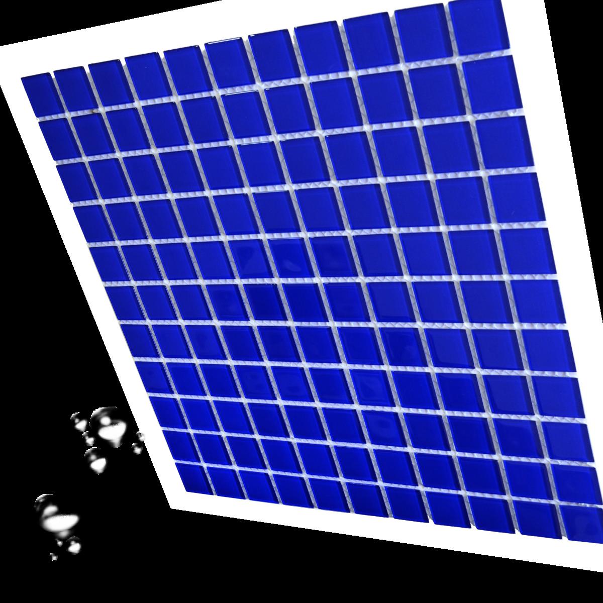Мозаика стеклянная для бассейна и хаммама Aquaviva Сristall кобальт DCM307 для бассейна