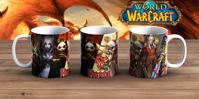 Чашка Варкрафт / атрибутика World of Warcraft