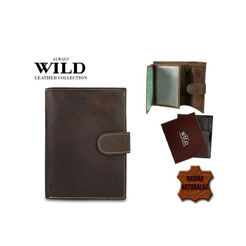 Мужской портмоне Always Wild brown New 2020