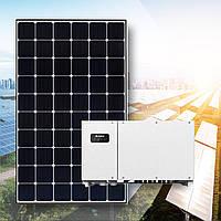 Комплект солнечная станция 20кВт. Инвертор Huawei 33 и Amerisolar 285W