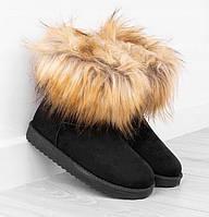 Зимняя женская обувь, замшевые угги