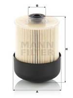 Топливный фильтр Mann PU9009ZKIT на Opel Movano / Опель Мовано