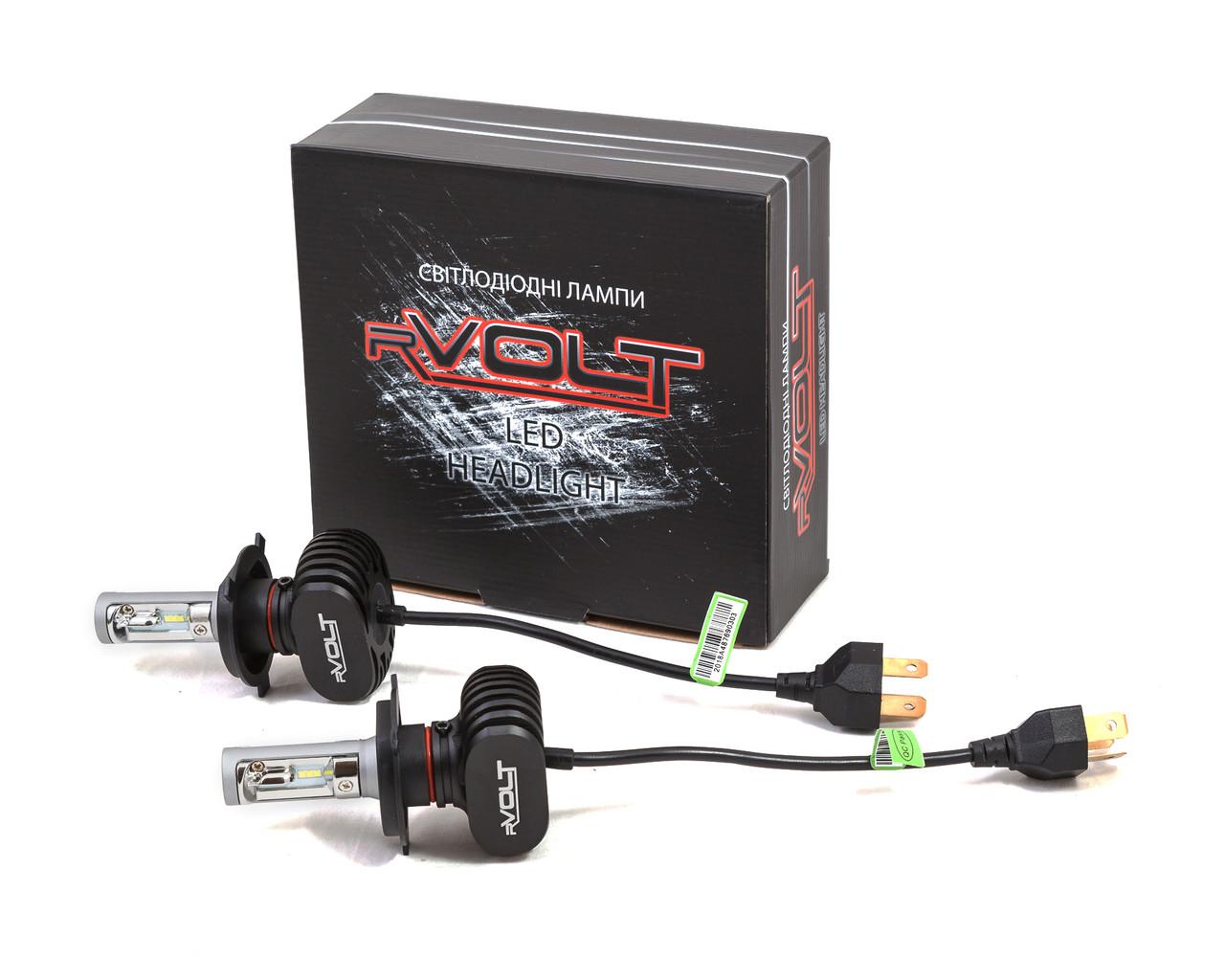 Светодиодные LED лампы rVolt RR01 H4 4000Lm