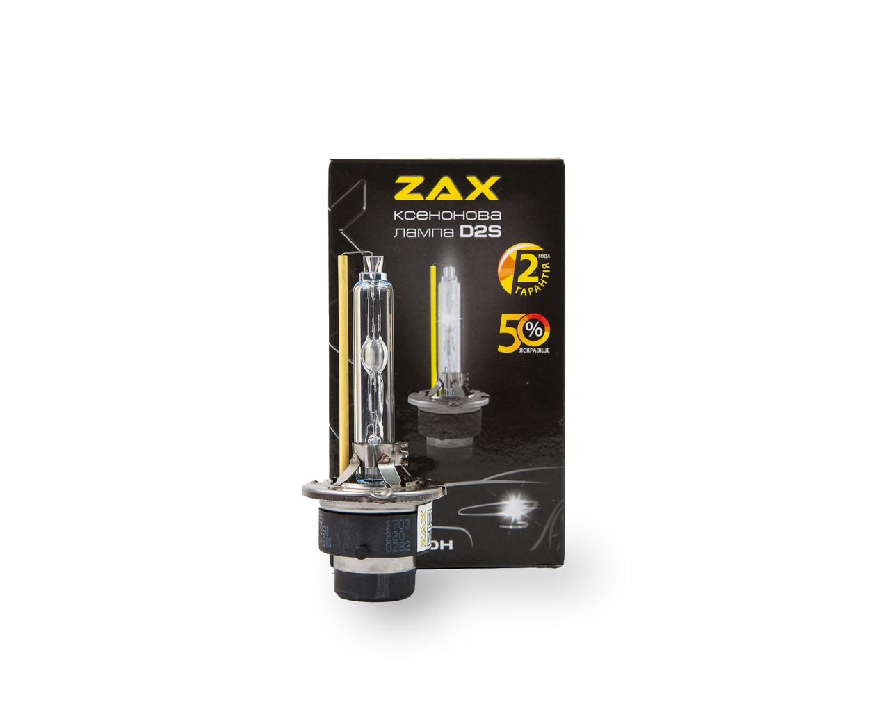 Ксеноновая лампа Zax metal base D2S +50% 6000K (hub_CNEf50046)