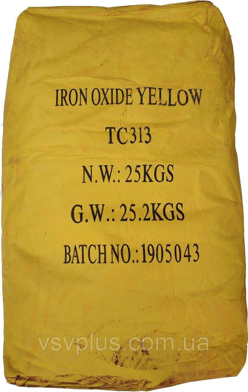 Пигмент желтый железоокисный Tongchem TC313 сухой Китай 25 кг