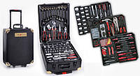 Набор инструментов в чемодане на колесах 356 единиц Kraft Royal Line новый