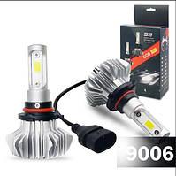 Автомобильная Светодиодная Led лампа Н1 световая температура  6000К , мощность света 4500Lm