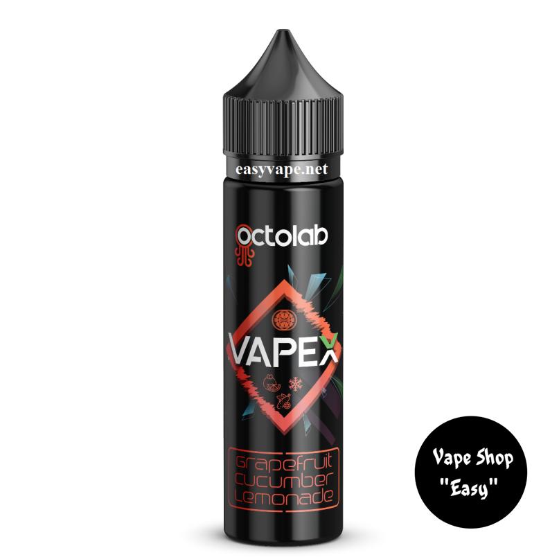 Vapex Grapefruit Cucumber Lemonade 60 мл жидкость для электронных сигарет.