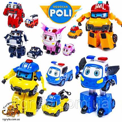 Робокар Поли полный набор героев трансформеров, фото 2