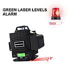 4D Лазерный уровень PRACMANU 16 линий для стяжки пола ➜ ПУЛЬТ ➜ Зеленые лучи ➜ ГАРАНТИЯ: 1 год, фото 3