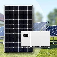 "Сонячна електростанція ""ПІД КЛЮЧ"" 30 кВт, Risen RSM120-6-330M/9ВВ JAGER Half-cell, Huawei"