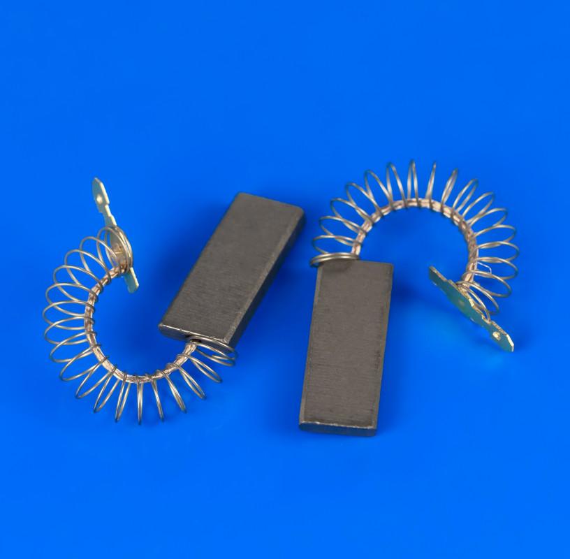 Щетки угольные цельные с проводом по центру 5х12,5х35