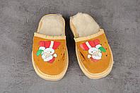 Детские тапочки, тёплые комнатные тапочки, комнатная обувь, размер 17, 19, фото 1