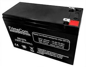 Акумуляторна батарея FrimeCom 12V 7AH (GS1270) AGM