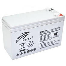 Акумуляторна батарея Ritar 12V 7Ah (RT1270) AGM