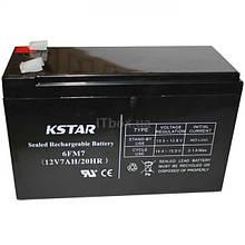 Акумуляторна батарея KSTAR 12V 7Ah (6-FM-7) AGM