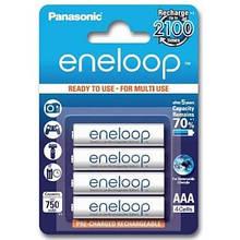 Аккумуляторы Panasonic Eneloop AAA/HR03 NI-MH 750 mAh BL 4 шт