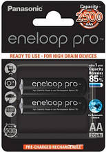 Аккумуляторы Panasonic EneloopPro AA/HR06 NI-MH 2500 mAh BL 2 шт