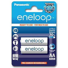 Аккумуляторы Panasonic Eneloop AA/HR06 NI-MH 1900 mAh BL 2 шт
