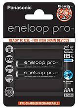 Аккумуляторы Panasonic Eneloop Pro AAA/HR03 NI-MH 930 mAh BL 2 шт