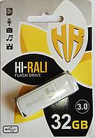 Флешка USB 3.0. Hi-Rali 32GB Taga series, белая