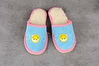 Детские тапочки, тёплые комнатные тапочки, комнатная обувь, размер 19, фото 1