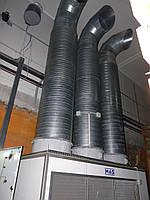 Холодильное и вентиляционное оборудование для хранения овощей