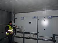 Монтаж промышленного холодильного оборудования