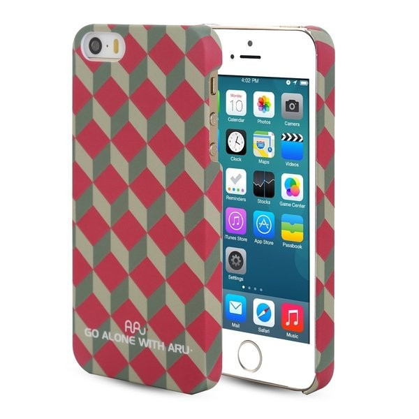 Чехол ARU для iPhone 5/5S/5SE Classic Red