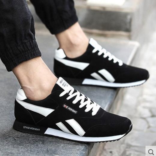 Стильные мужские кроссовки-мокасины. Разные модели и цвета. Модель 05502-н