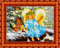 Набор для вышивания бисером «В Рождество»